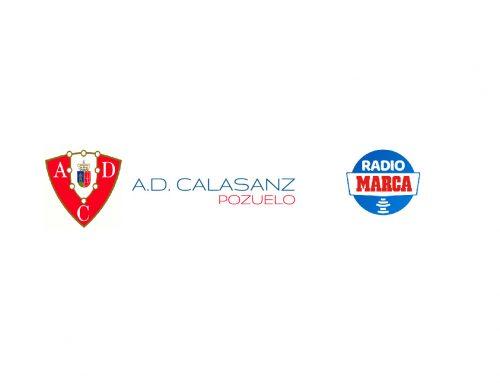 Entrevista en Radio Marca al presidente de A.D. Calasanz Pozuelo